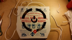 Cut Out Pizza Box